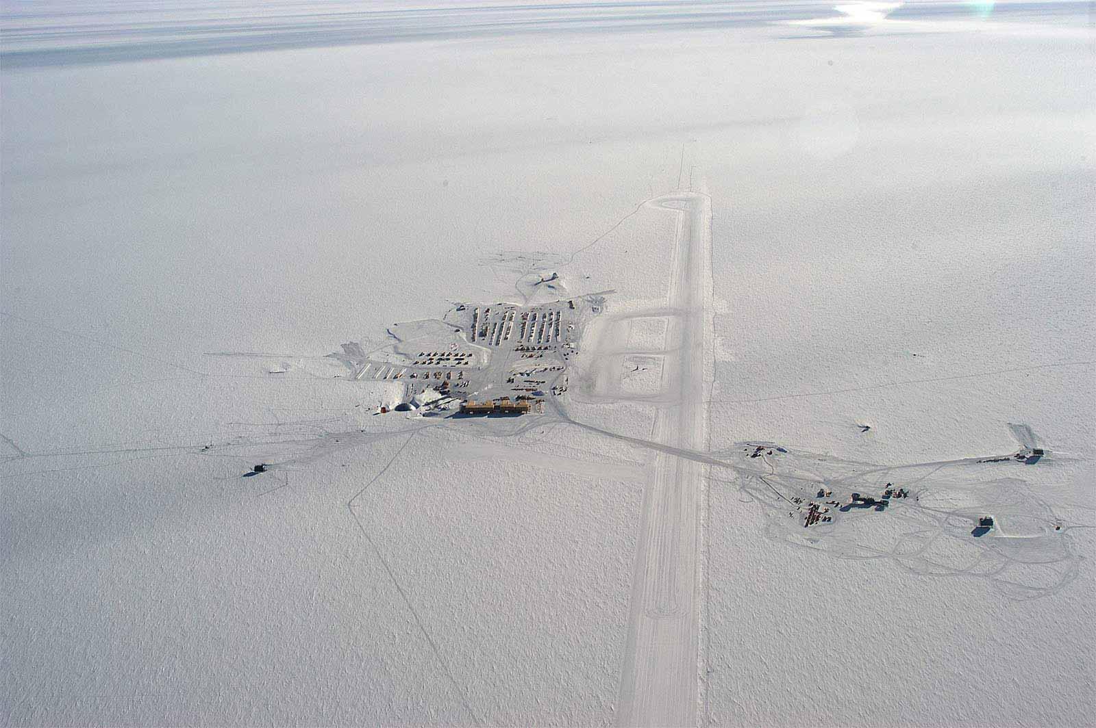 Antarktis Verbotene Zone