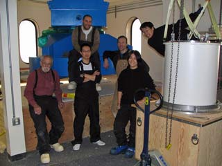 the BICEP installation team