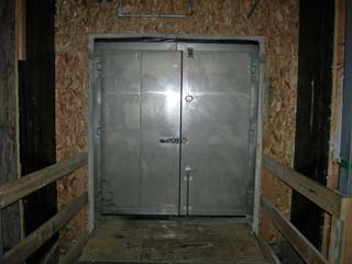 the level 1 door into the station from the beer can