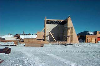 At Left The BIF Under Construction In 1996 97