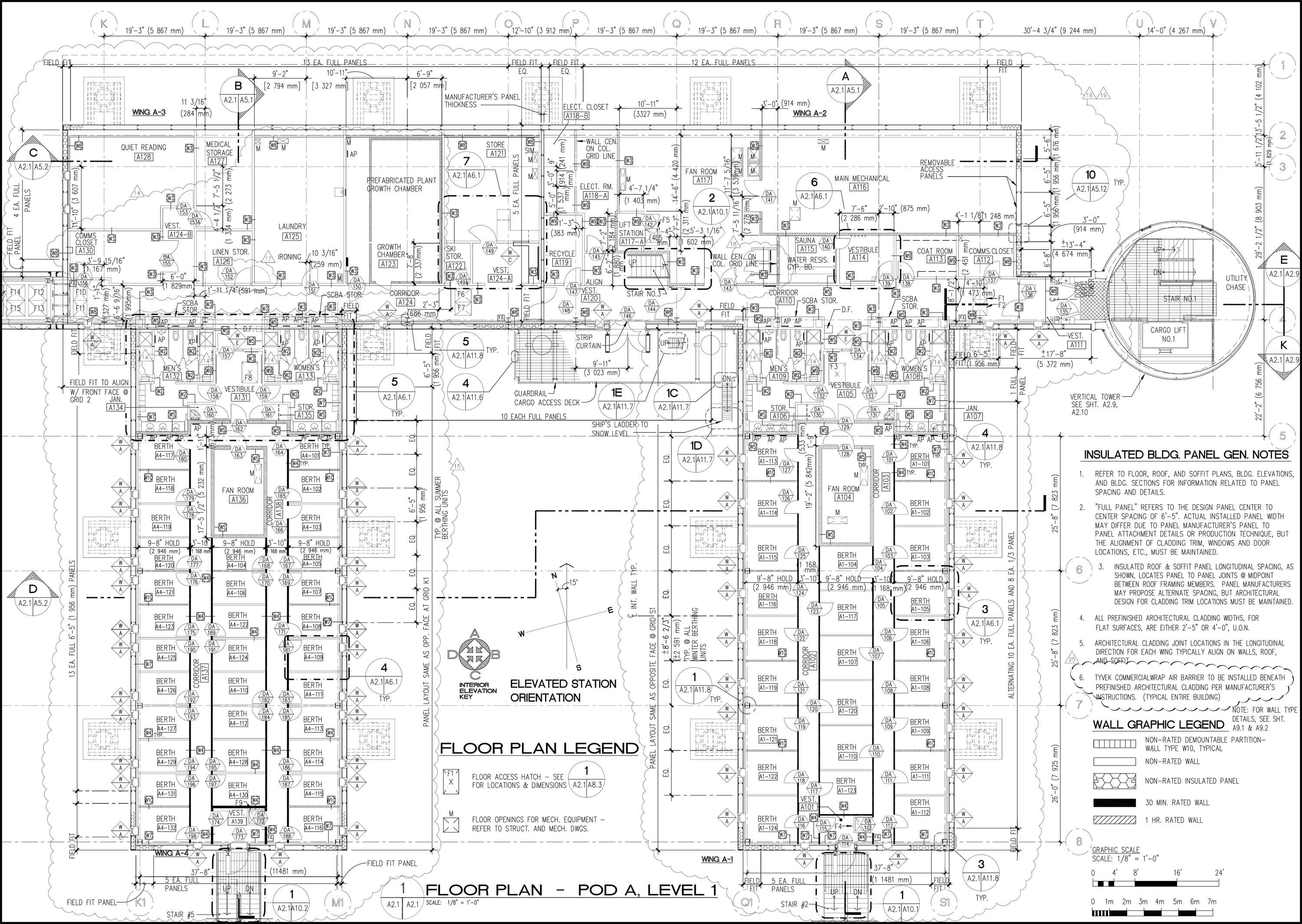 Elevated Station Site Plan And Layout