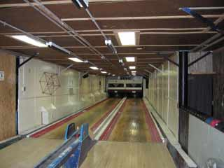 McMurdo bowling alley in January 2006