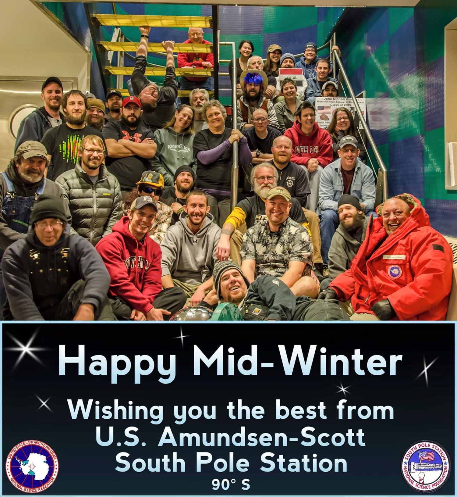 South pole winter 2015 the 2015 midwinter greeting card kristyandbryce Choice Image