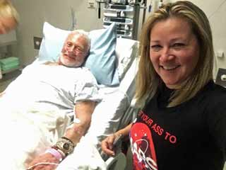 Buzz Aldrin in hospital