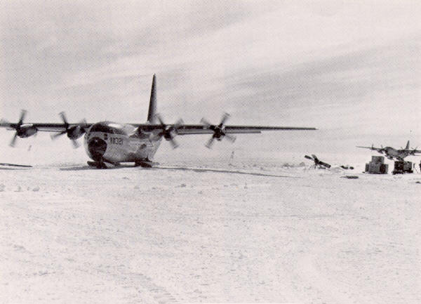 Salvaged airplane returns to McMurdo Station