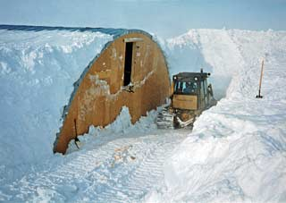The Dome is Home--South Pole history 1975-90