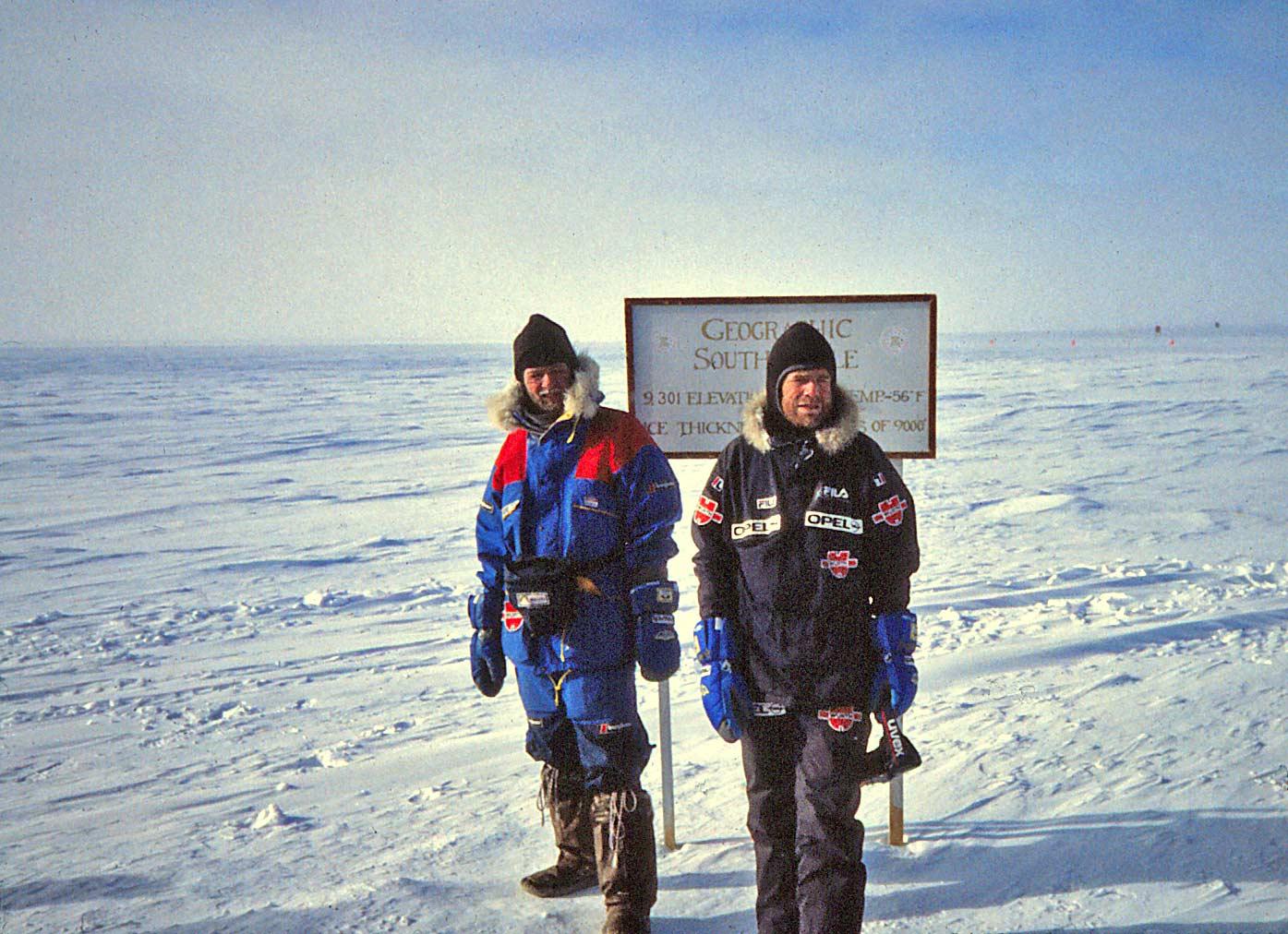 Arved Fuchs Reinhold Messner Streit