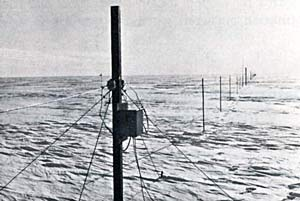 the first Stanford VLF antenna
